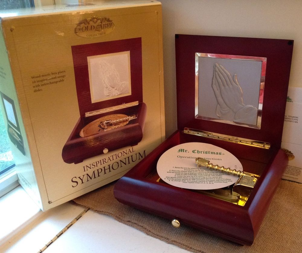 Mr christmas gold label inspirational symphonic music mib