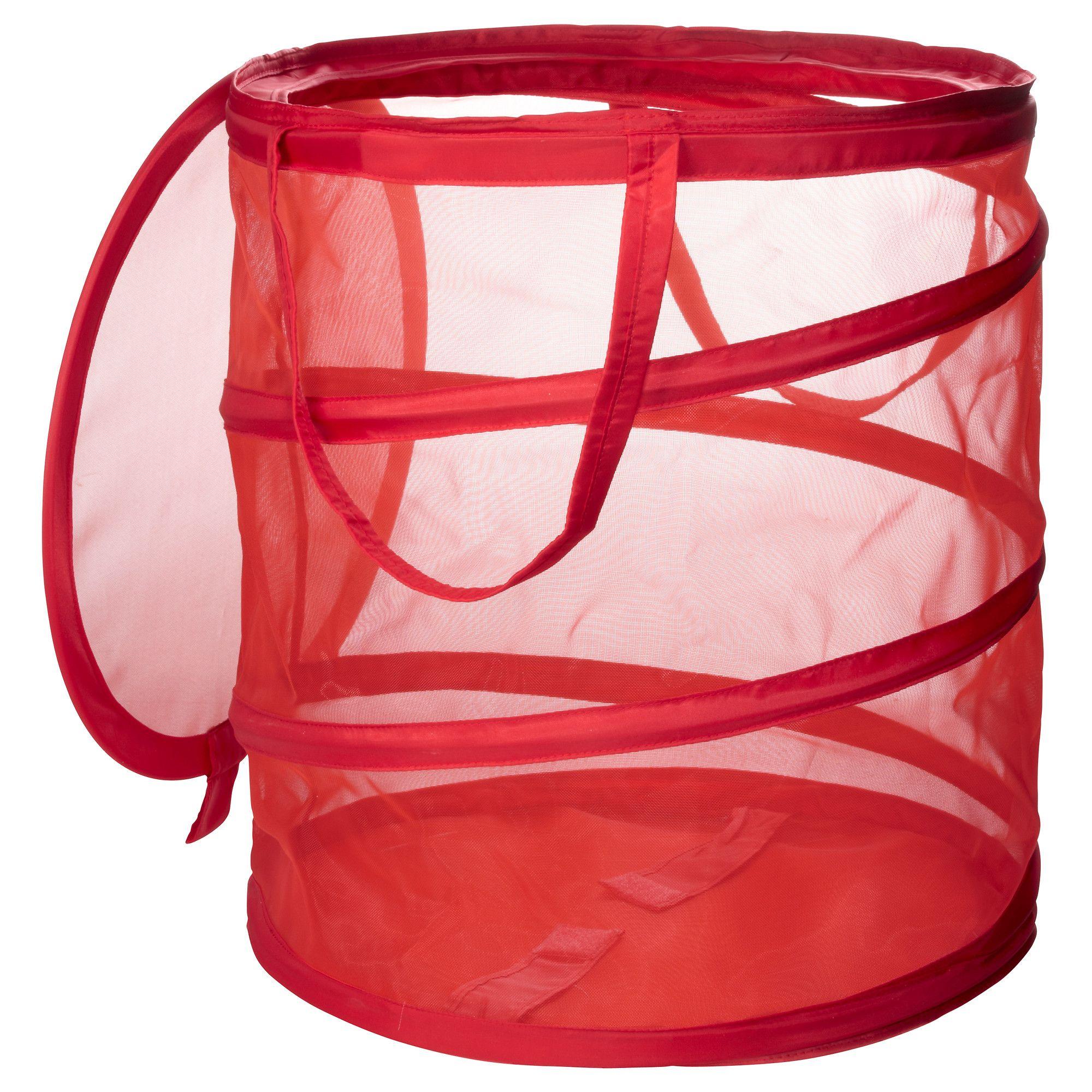 Fyllen Laundry Basket Red Ikea