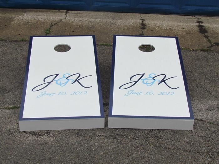 Wedding Cornhole Boards | Cornhole | Pinterest | Wedding cornhole ...
