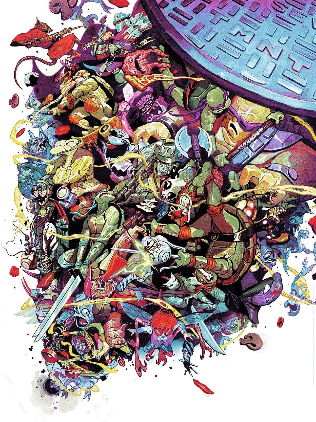 Tmnt Mondo Teenage Mutant Ninja Turtles Art Tmnt Art Ninja Turtles