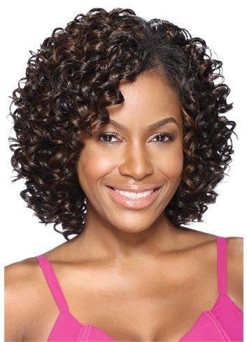 Perfect Oprah 5pcs Braids Hair Styles Curly Wigs Kinky Curly Wigs