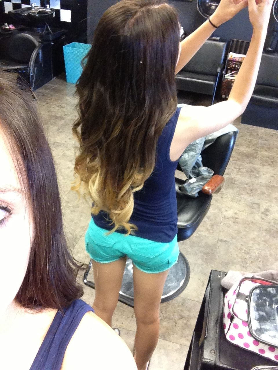 My Ombre I Got Done At Total Fx Hair Salon In Bowling Green Ky Thanks To Ashley Garmon For This Beautiful Hair Hair Salon Hair Beautiful Hair