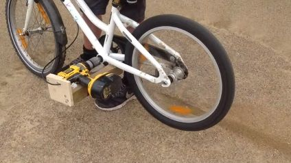 How To Make A Electric Bike Easy With A Drill Hobby Craft Ideas
