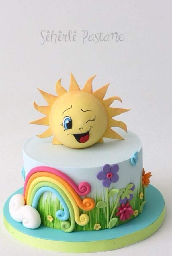 Sun Cake by Sihirli Pastane | Cakes & Cake Decorating ...