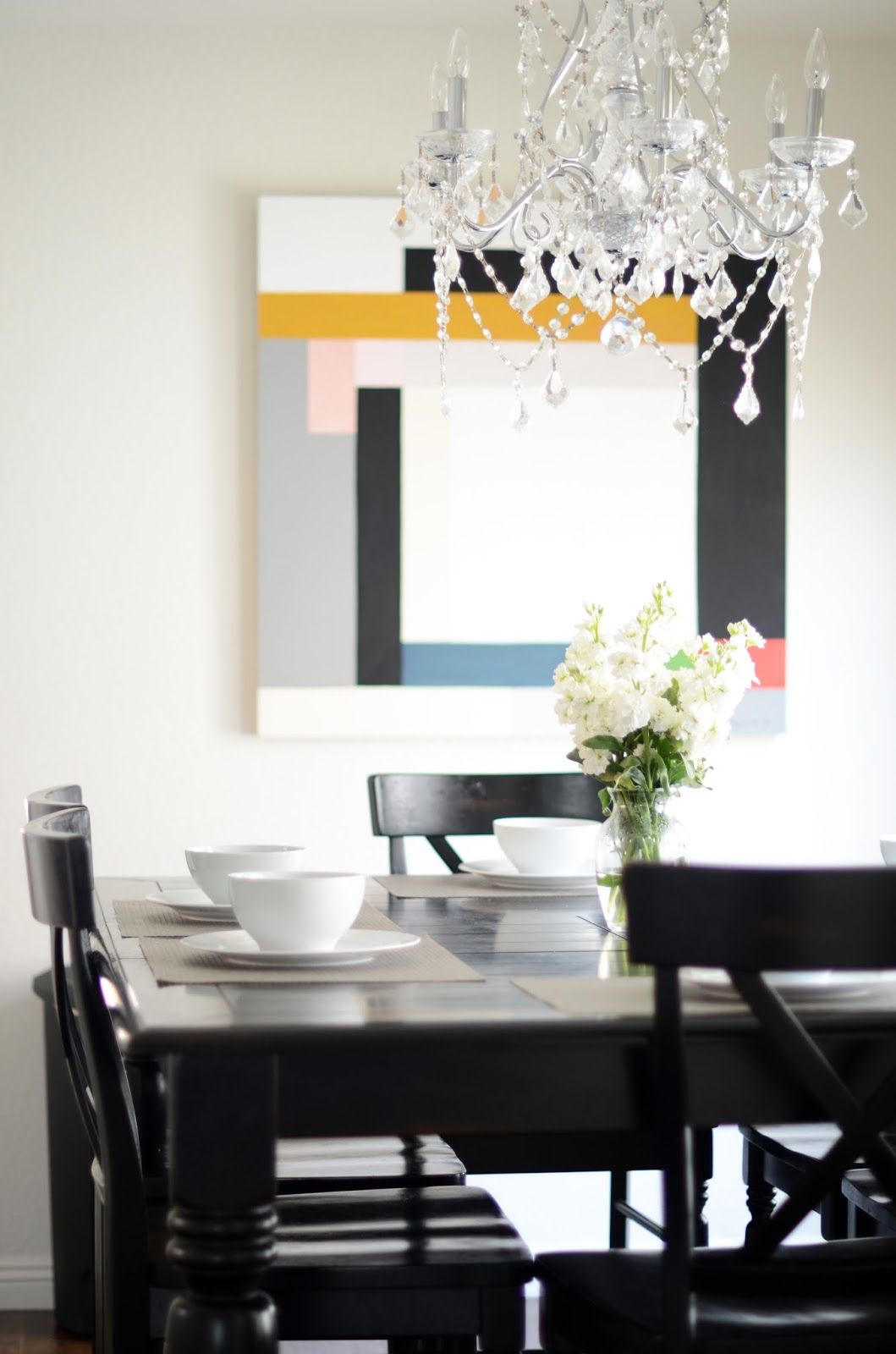 HOME TOUR: KITCHEN, DINING, AND LIVING ROOM EDITION | Art styles ...