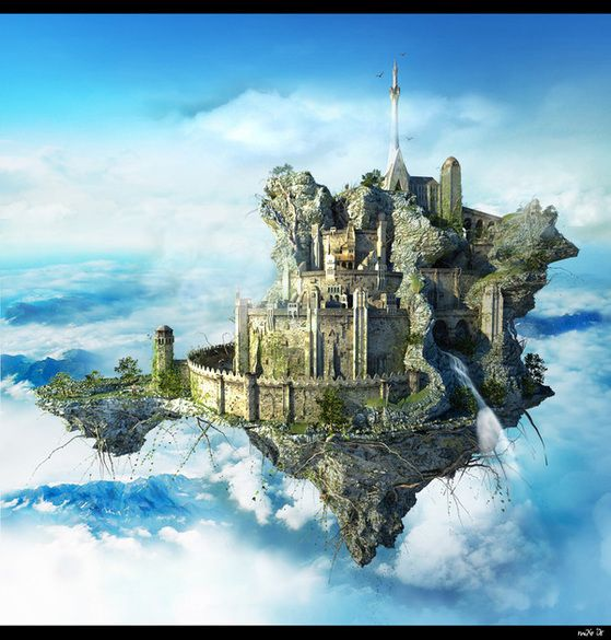 Flying Castle by Michael Khachatu on Behance