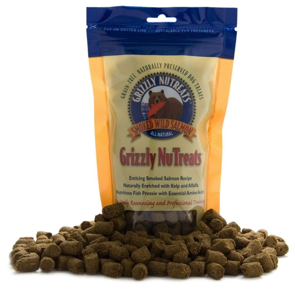 Grizzly wild salmon nutreats for dogs 6 oz grain free