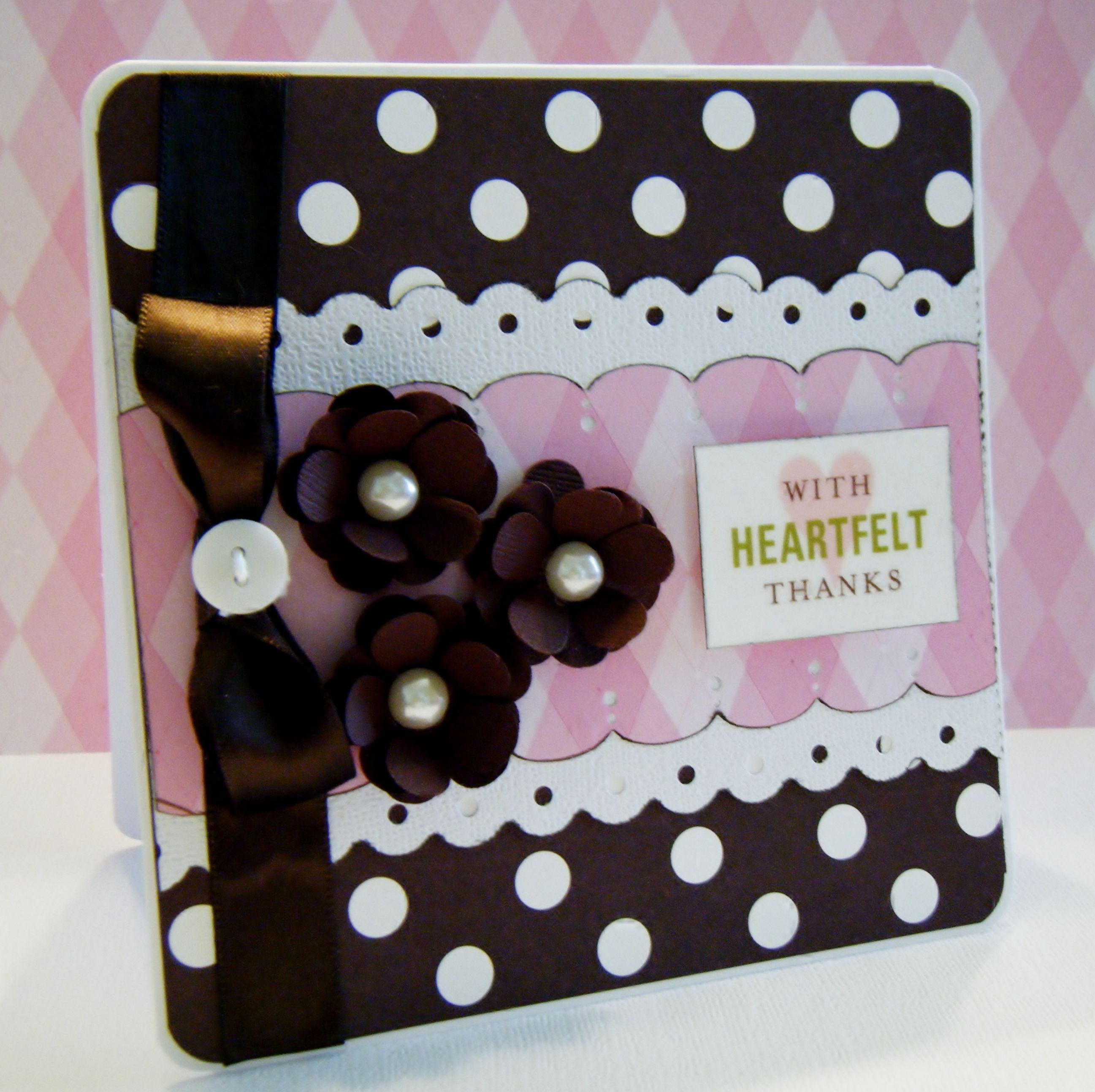 With Heartfelt Thanks - Scrapbook.com by Lisa Young