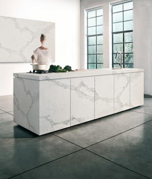 Caesarstone Calacatta Nuvo Price: A Classic Reinvented, New 5131 Calacatta Nuvo Is Caesarstone's Interpretation Of Natural