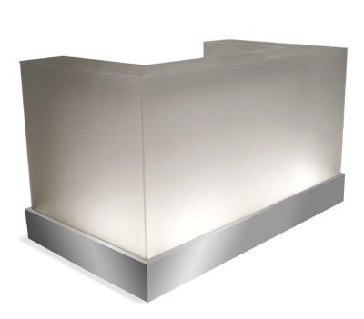 Check Out The Deal On Ghost Reception Desk 60 At Design X Mfg | Salon  Equipment