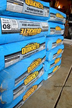 Make Diy Concrete Countertops Diy Concrete Counter Concrete Diy Diy Concrete Countertops