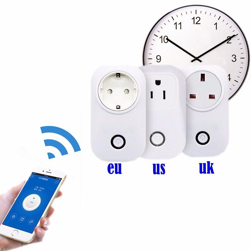 sonoff s20 wifi socket eu/US plug remote control Adapter wireless ...