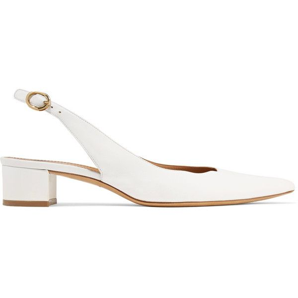 pointed slingback pumps - Nude & Neutrals Mansur Gavriel 0vJTS6WM