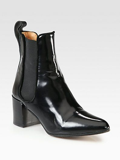 Acne Studios - Free Leather Ankle Boots - Saks.com