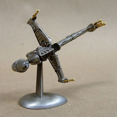 Star Wars B-WING FIGHTER STATUE - Rawcliffe Fine Pewter - 1994 - Mini Figurine https://t.co/8PEcUjrUUA https://t.co/wxFiIcr5Jz