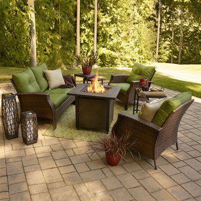 Allen + Roth Terra Nova 4 Piece Conversation Set. Home Decor ...
