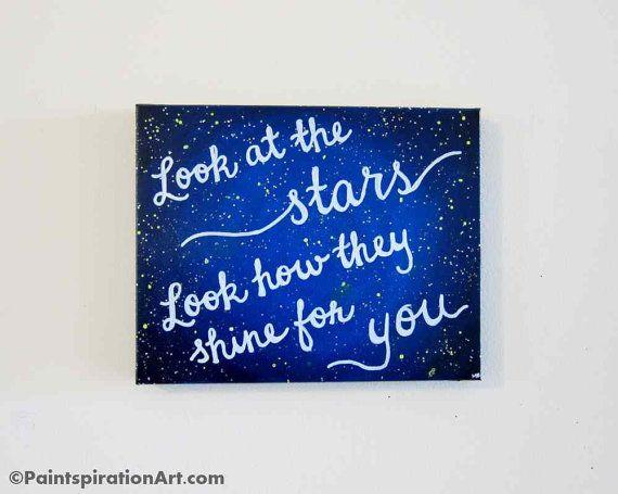 Diy Canvas Wall Art Quotes Song Lyrics