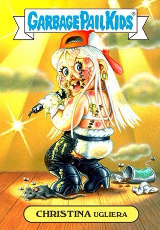 Christina Ugliera Garbage Pail Kids Garbage Pail Kids Cards Pail
