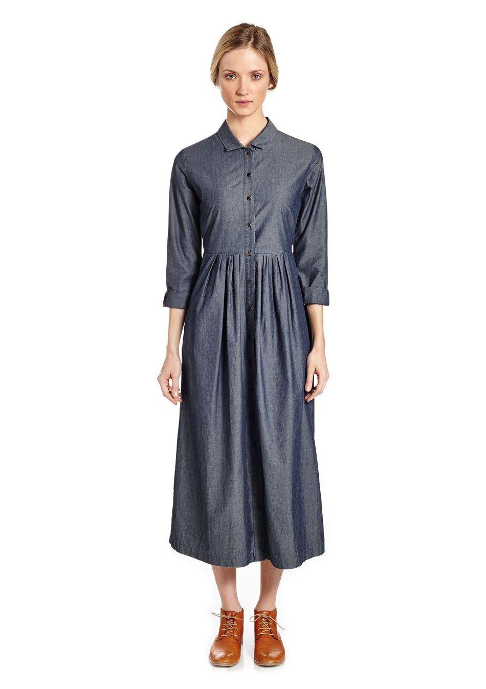 Chambray shirt dress looks pinterest simple clothing chambray