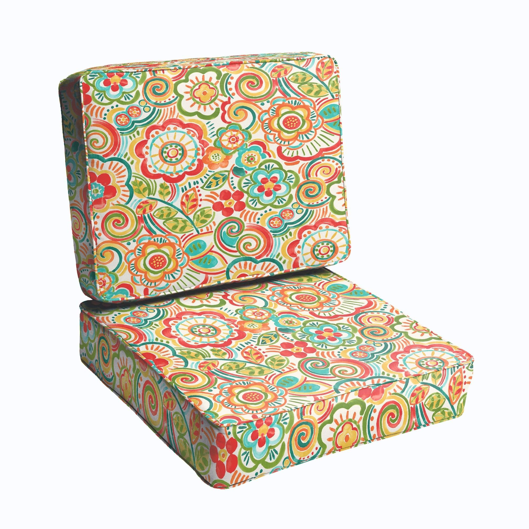 2 piece outdoor chair cushion set products pinterest outdoor