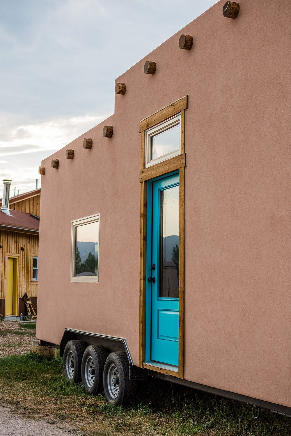 Adobe Tiny House by Mitchcraft | Tiny House Living | Pinterest ...
