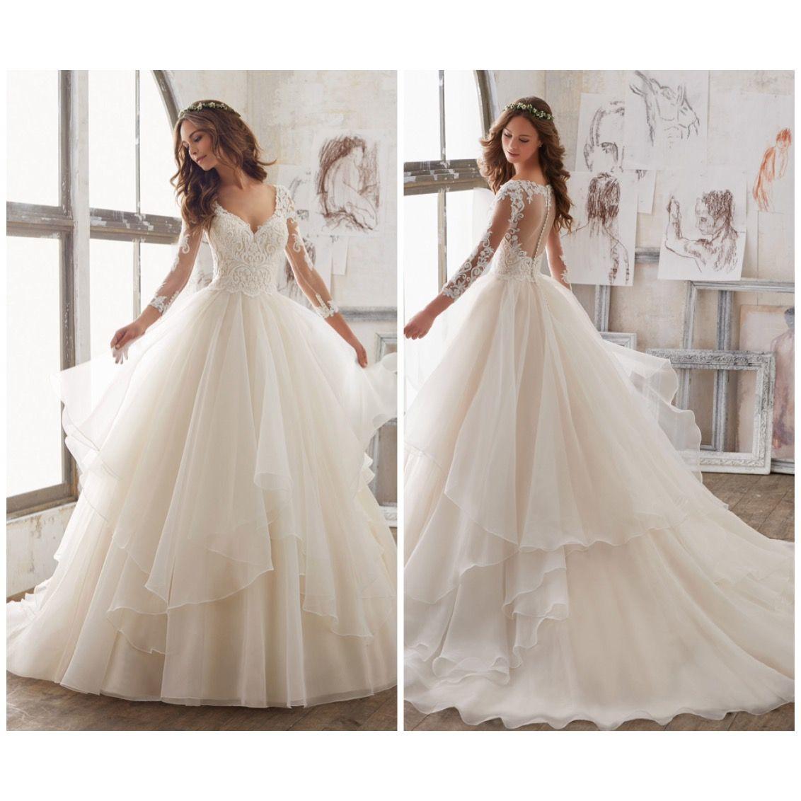 Pin On MAFALDAS Wedding Dresses