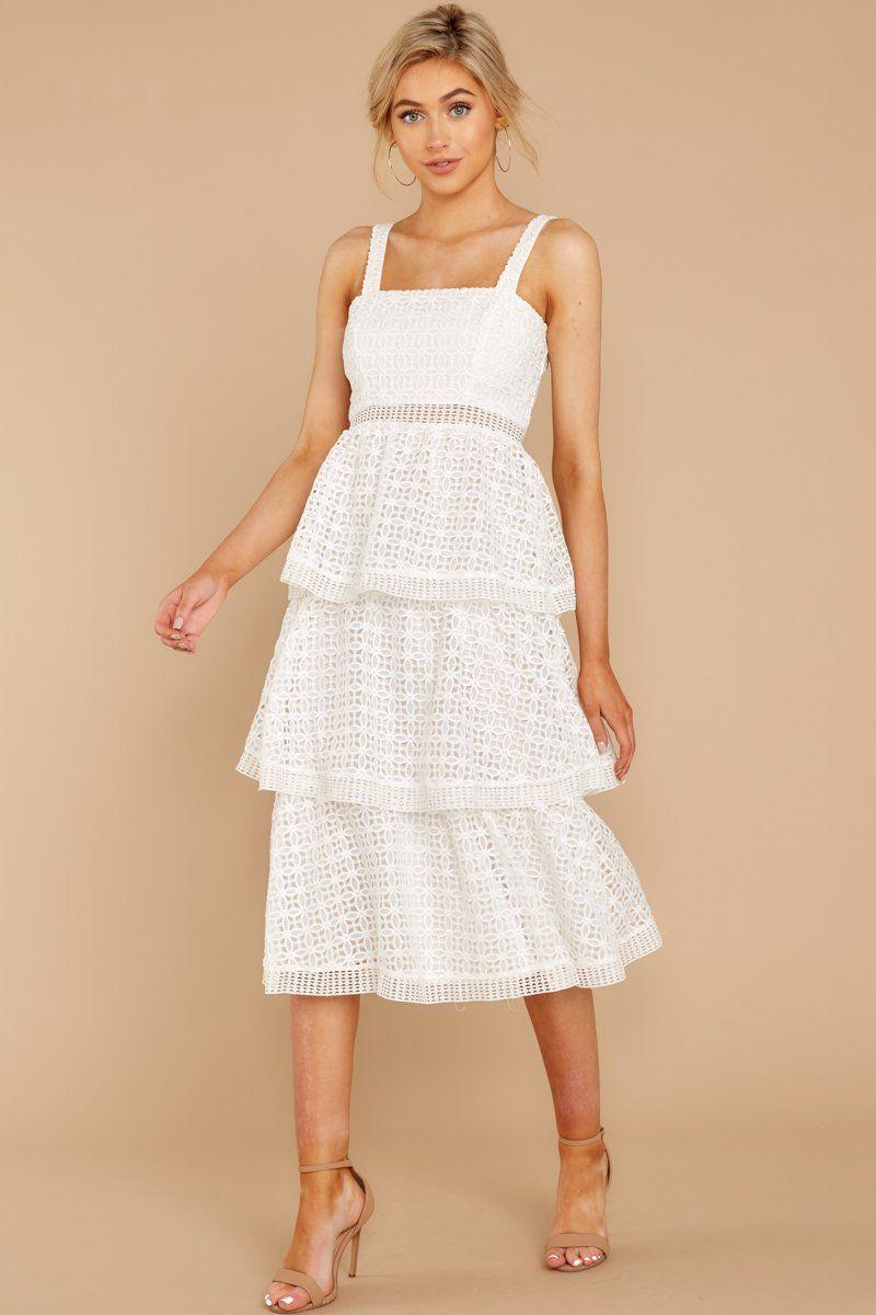 Elegant White Lace Dress Tiered Lace Midi Dress Dress 48 00 Red Dress White Lace Midi Dress Eyelet Lace Dress Lace White Dress [ 1200 x 800 Pixel ]