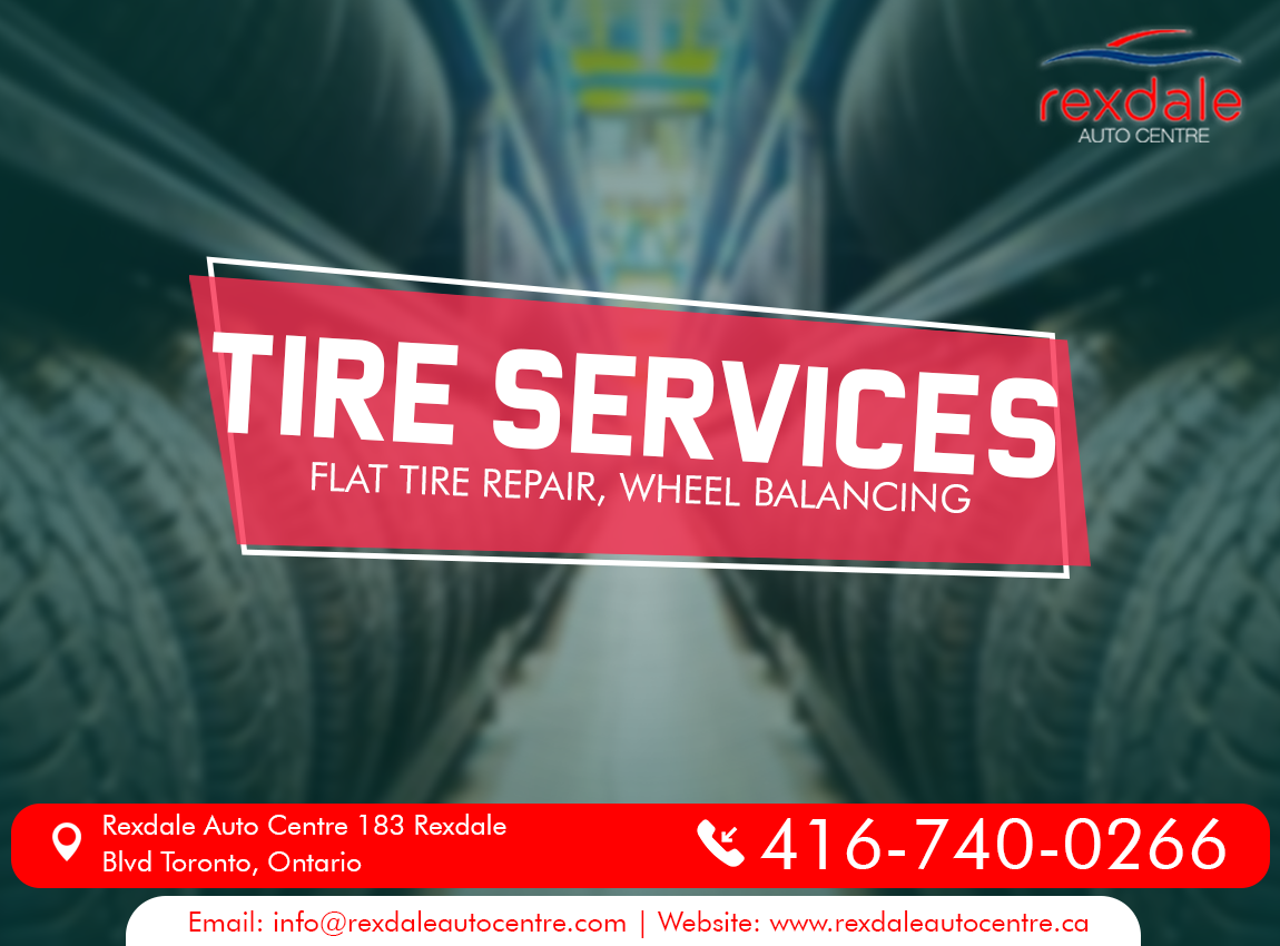 At Rexdale Auto Centre We Balance Your Car Wheels Help You To