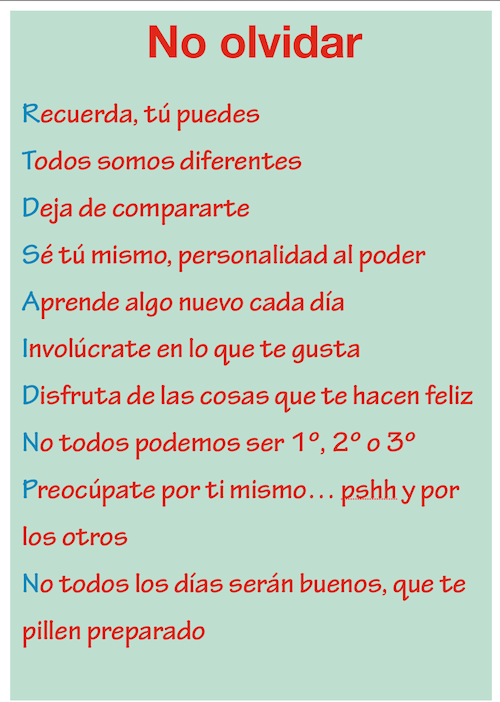 Coaching Educativo No olvidar... | Las mejores frases | Pinterest