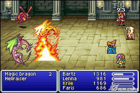 Final Fantasy V Advance Usa Rom Download For Gameboy Advance