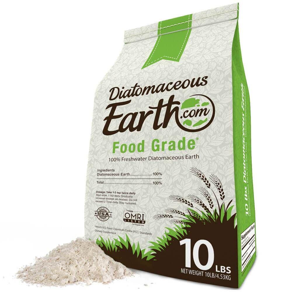 10 Lbs Food Grade In 2020 Diatomaceous Earth Food Grade Organic Recipes Diatomaceous Earth