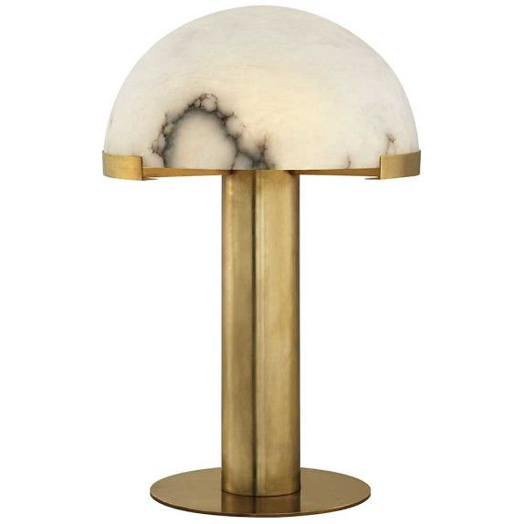 Hotel Collection Alabaster: Kelly Wearstler Brass And Alabaster Table Lamp