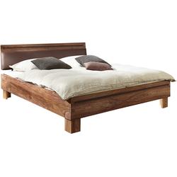 Massief Houten Bed 160x200.10x Van Pallet Naar Meubel Meubel Ideeen Bed Meubels En