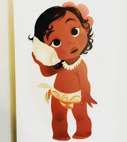 Image result for disney princess baby moana