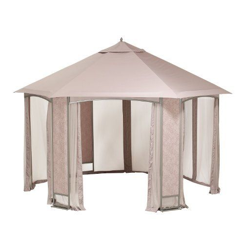 Sears Oakbrook Hexagon Gazebo Replacement Canopy By Garden Winds 149 99 This Replacement Canopy Gazebo Replacement Canopy Hexagon Gazebo Replacement Canopy