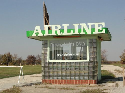 Airline twin drive in