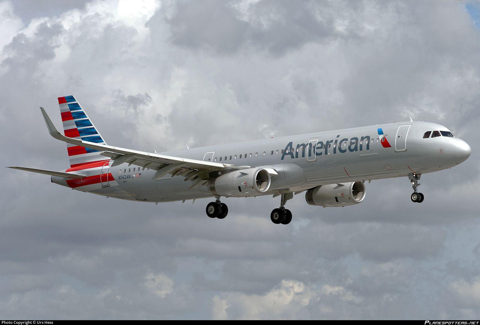 N142AN American Airlines Airbus A321231(WL) (Dengan gambar)