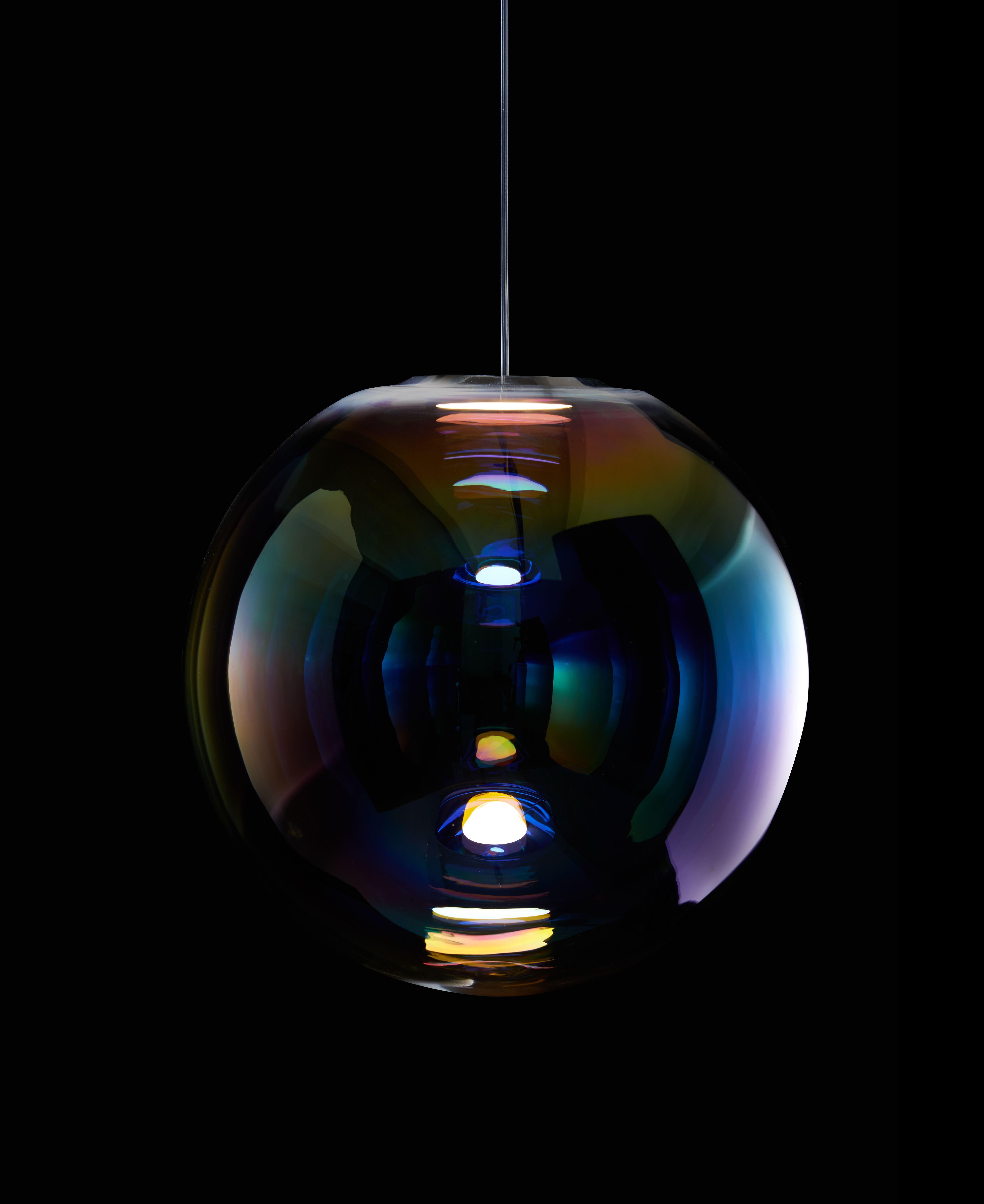 Iris Oled Pendant Lamp By Neo Craft Anhanger Lampen Lampen Seifenblasen