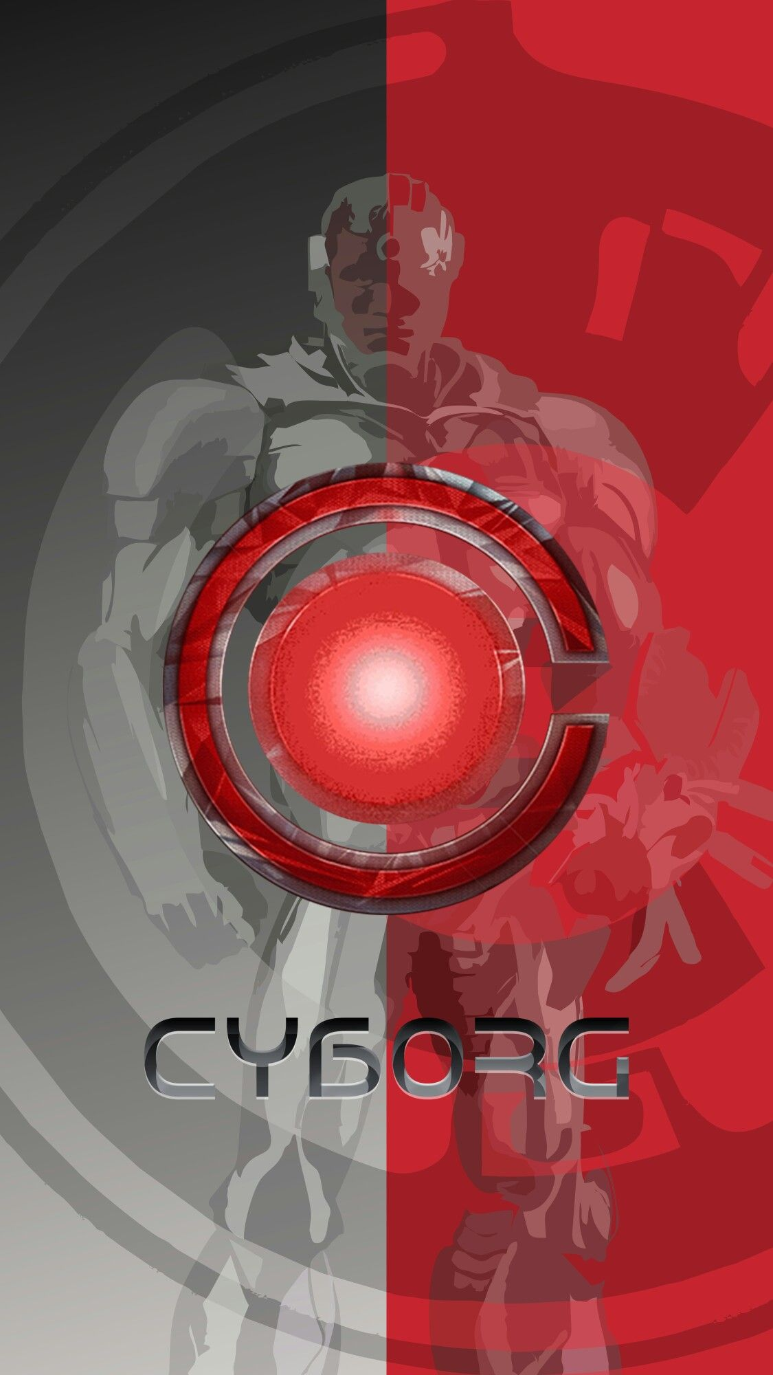 Pin By Lucas Blanchette On Dc Comics Cyborg Cyborg Logo Cool Wallpapers For Phones