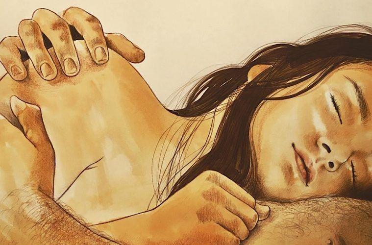 Intimste Momente der Zweisamkeit kunstvoll festgehalten – wunderschöne Zeichnungen von Frida Castelli - detailverliebt.de