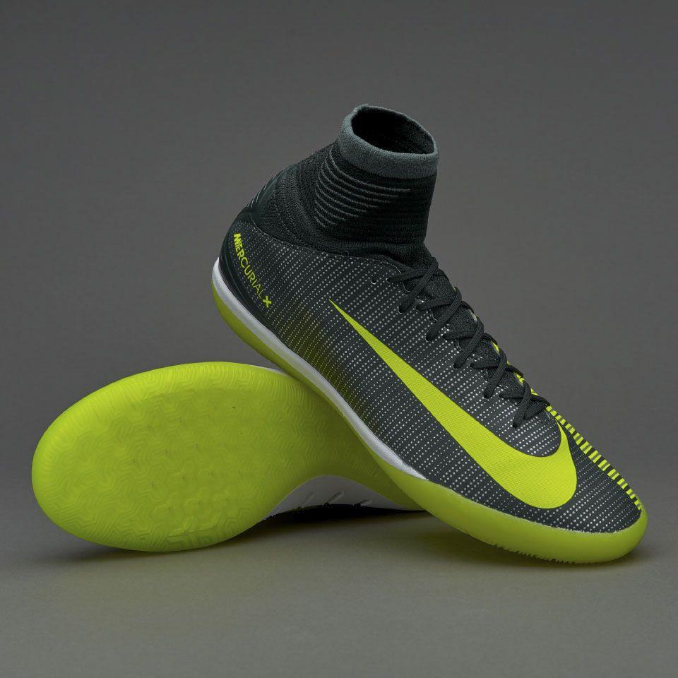 Nike Kids MercurialX Proximo II CR7 IC - Seaweed/Volt/Hasta/White