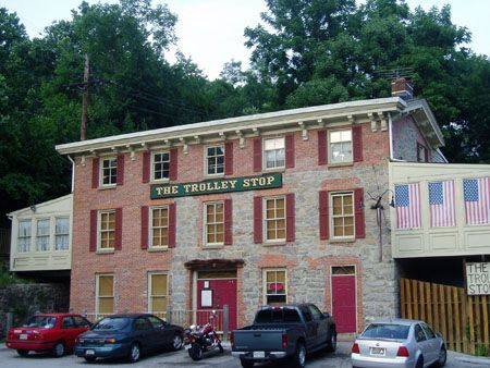 Historic Ellicott City, MD: The Trolley Stop. Every time my ...