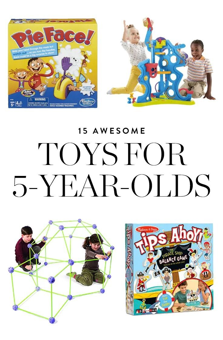 gift ideas for 5 year old boy not toys