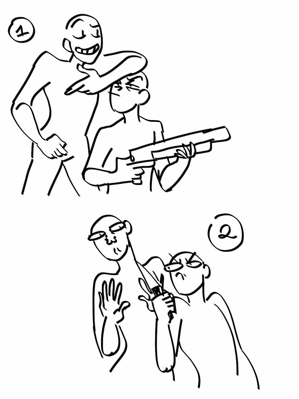 Draw your otp/ocs with weapons imagine OCs Pinterest