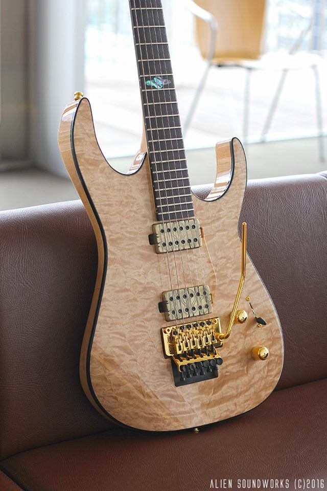 Alien Soundworks Solarian6frt Cool Guitar Guitar Electric Guitar