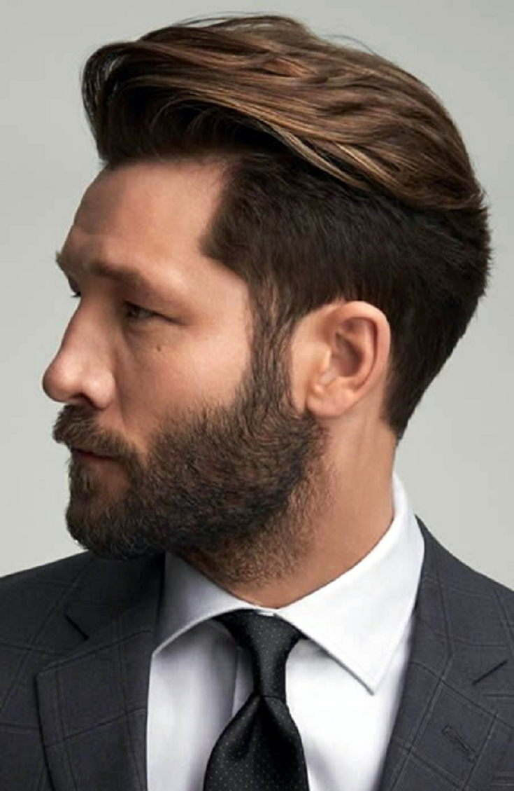 Medium short haircut men latest  best hairstyles for men in   haircut styles quick