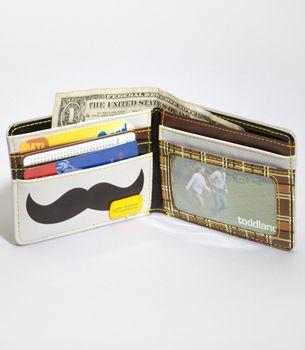 This wallet is in my pocket as we speak