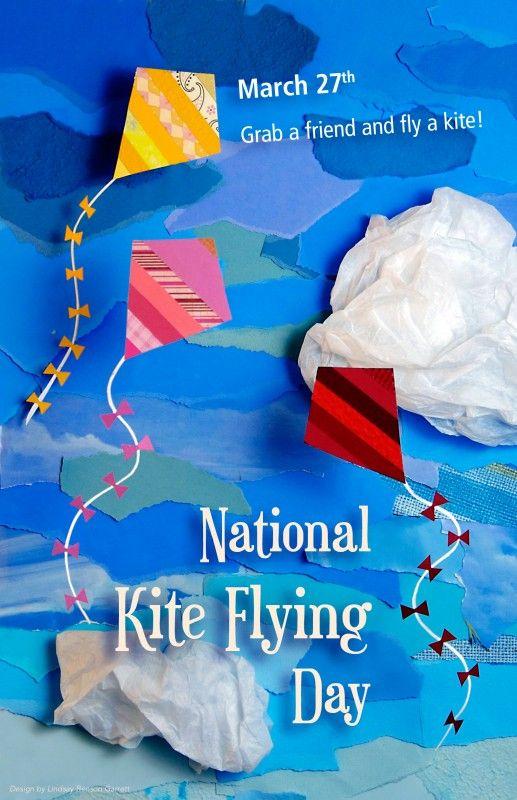 15+ Kite Flying Day Clipart
