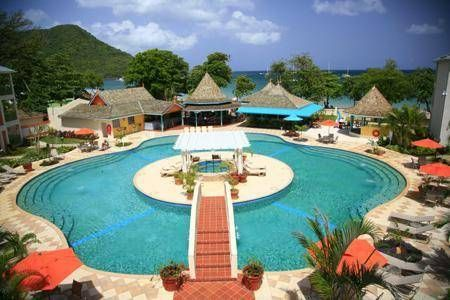 Bay Gardens Beach Resort_This Is A Particular Resort In St. Lucia, With An  Enchanting