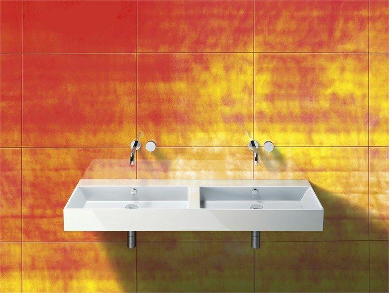 Lavabo doppio in ceramica PREMIUM 150 Collezione Premium by CERAMICA ...